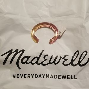 Madewell Ombre Resin Cuff Bracelet BNWT